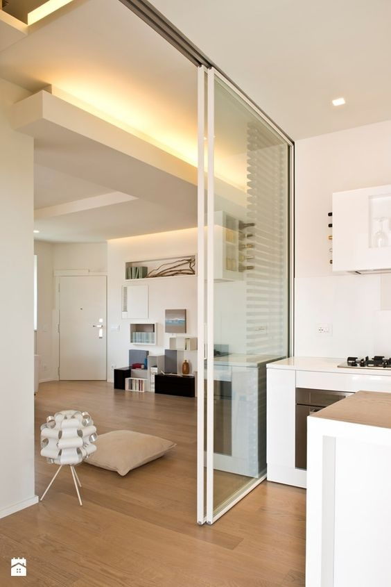 Glass Partition Ideas for Kitchen 01