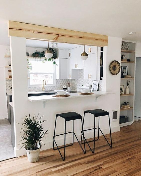 Glass Partition Ideas for Kitchen 21