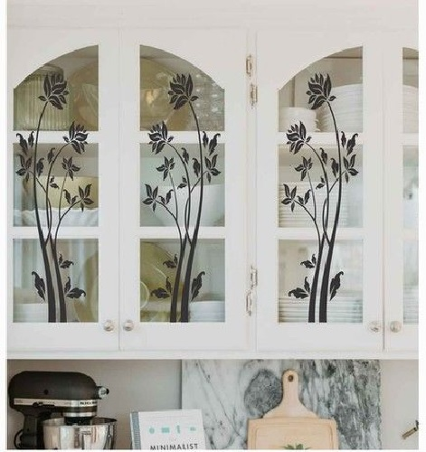 Texture Glass for Kitchen Cabinet 14