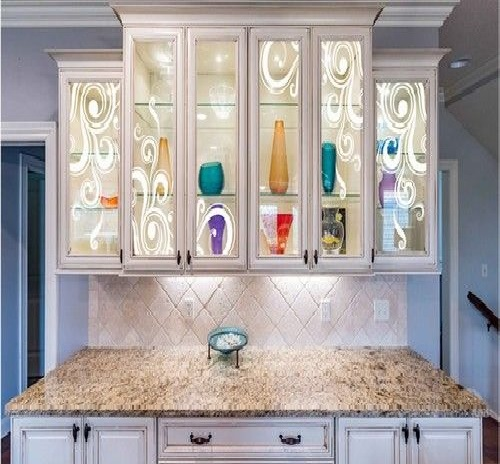 Texture Glass for Kitchen Cabinet 17