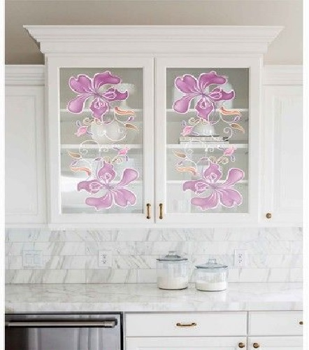 Texture Glass for Kitchen Cabinet 19