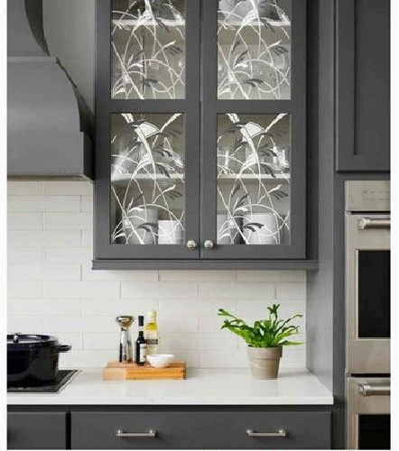 Texture Glass for Kitchen Cabinet 25