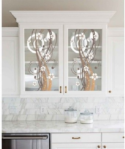 Texture Glass for Kitchen Cabinet 28