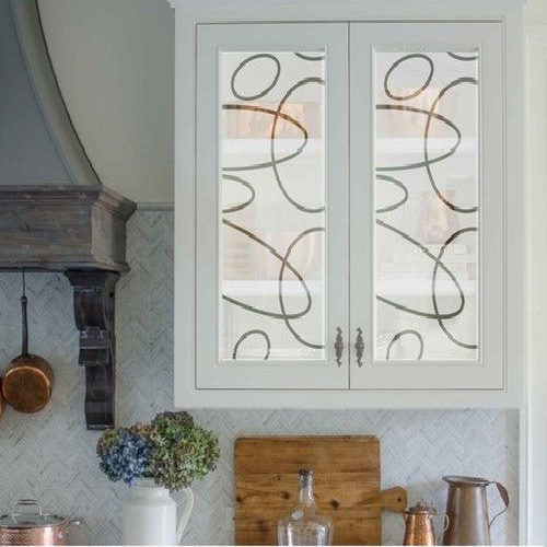 Texture Glass for Kitchen Cabinet 30